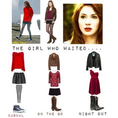 """""""Nerd Fashion: Amy Pond #6"""" by mashed-potatoes-and-gravy on Polyvore"""