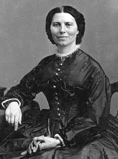 Clara Barton:  1821–1912   Clara Barton got involved with tending the needy when she treated injured Union soldiers on the battlefield during the Civil War. She later was the founder and first president of the American Red Cross.