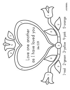 coloring pages love one another - 1000 images about sunday school coloring pages on