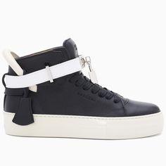 Buscemi Women's 100MM Black Tricolor Sneakers #buscemi #sneakers #fashion  #blackfriday #blackfridaygifts