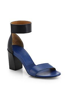 Chloe Gala Leather Ankle Strap Sandal