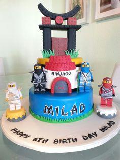 Ninjago Cake Ninjago Torte