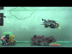 lego robot submersible steered with xbox 360 controller