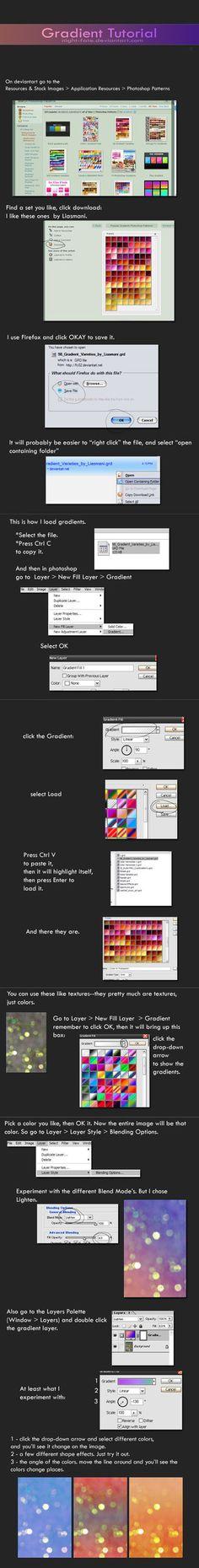 gradient tutorial