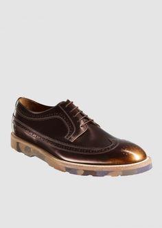 Paul Smith Shoes   Men's Black Leather Grand Marbled Brogues materials? - Recherche Google