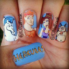 hercules by 101nailfreak #nail #nails #nailart