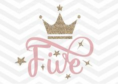 Image result for number five with crown