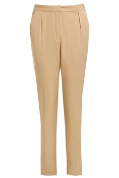 "<p style=""text-align: center;"">Ditch the dress and suit up in these nude masculine cut tux trousers with full lining and a contrasting single button fastening.</p>"