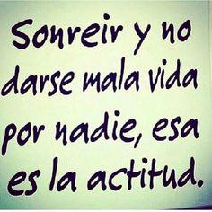 #Actitud #frase