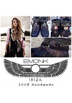 EMONK IBIZA botas - Extensiones de pluma