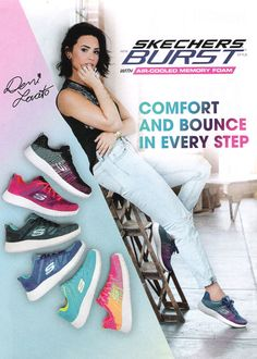 demi lovato skechers photoshoot