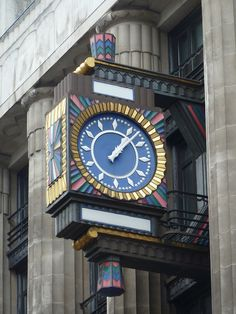 Clock on Fleet Street in Smithfield, London, England by victorianlondon  Lee Jackson	    clock  Fleet Street