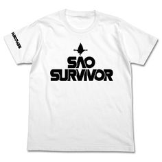 Sword Art Online - SAO Survivor T-shirt/ WHITE - M