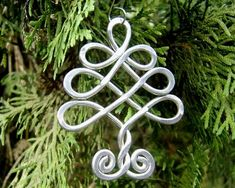 Celtic Tree Ornament Christmas Ornament by nicholasandfelice