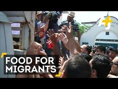 Cash-Strapped Greece Helps Thousands Of Refugees On Greek Island Of Kos - YouTube