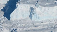 In western Antarctica, a glacier the size of Florida is losing ice faster than ever before. Sections of the Thwaites Glacier are retreating by up to feet per year, contributing to of sea-level rise worldwide. That ice loss is part of a broader tre… Delft, Snowball Earth, Glaciers Melting, Ice Sheet, Pine Island, Sea Ice, Sea Level Rise, Global Warming, Volcano