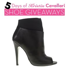 Win these beauties, today only, on our Facebook page: http://on.fb.me/1z2T3jX. To enter for your chance to win these Laney booties, like today's Facebook giveaway post. Repin this pin for an extra entry!