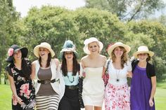 English Tea Bridal Shower by Rebekah Westover Photography I love how everyone is dressed for tea:)