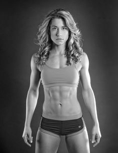 Basically my ideal body. Look at those quads! You know she can move some serious weight.
