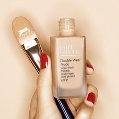 Protection from the sun is as easy as putting on your New Nude Water Fresh makeup has SPF 30 and is your invisible defense against UV rays and pollution. Link in bio to shop. Fresh Makeup, Estee Lauder Double Wear, Red Fruit, Daily Beauty, Liquid Foundation, Fashion Pictures, Sephora, Beauty Makeup, Moisturizer