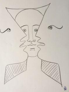None - Jean Cocteau - Trois visages