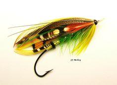Green Highlander Best Fishing Reels, Fly Fishing, Salmon Flies, Fly Tying, Tie, Classic, Green, Artist, Derby