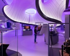 cool The Winton Gallery designed by Zaha Hadid Architects opens at the Science Museum Check more at http://www.arch2o.com/winton-gallery-designed-zaha-hadid-architects-opens-science-museum/