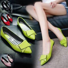Mme chaussures plates Frau flache Schuhe ##only 9$