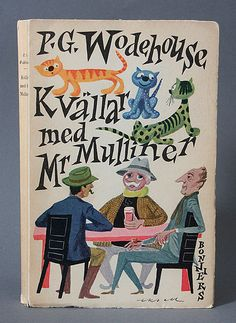 All sizes | P.G. Wodehouse Book cover by Olle Eksell | Flickr - Photo Sharing!