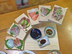 挑戦!お刺身・前菜盛り合わせ用の階段状のお皿を自分で作ってみる。 - UMIさんのキッチンの食器(1/2) - イエナカ手帖