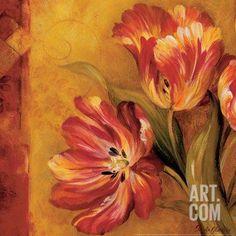 Pandora's Bouquet II Art Print by Pamela Gladding at Art.com