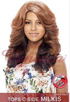Vanessa Express Lace Front Wig Tops C Milkis