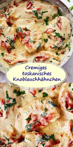 Cremiges toskanisches Knoblauchhähnchen Cremiges toskanisches Knoblauchhähnch… Creamy Tuscan Garlic Chicken Creamy Tuscan Garlic Chicken It tastes like in the restaurant The post Creamy Tuscan Garlic Chicken appeared first on Children's Birthday Ideas. Tuscan Garlic Chicken, Garlic Chicken Recipes, Spinach Recipes, Healthy Recipes, Garlic Ideas, Creamy Garlic Pasta, Good Food, Yummy Food, Eat Smart