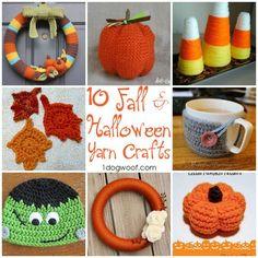 Halloween and Fall Yarn Roundup