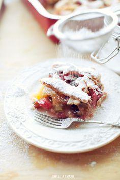 Ciasto z rabarbarem i ananasem