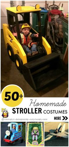 Coolest Homemade Costumes for Babies and Toddlers in Strollers