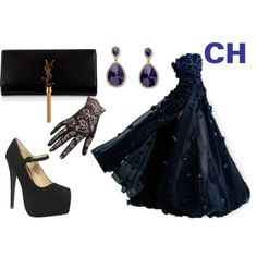 CH by ninahudson on Polyvore featuring moda, Wet Seal, Yves Saint Laurent and Palm Beach Jewelry