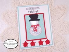 Created using Happy Holidays, Holly Days Sweet Cuts, Snow Friends Sweet Cuts and Marshmallow Sequins - www.papersweeties.com!  Designed by Debbie Marcinkiewicz.