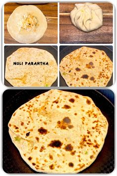 Mooli Paratha, also known as radish paratha or daikon paratha or daikon radish paratha, is a flatbread with radish stuffing and is popular bread in northern part of India. #muliparatha #mooliparatha #radish #mooli #muli #paratha #yummy #indianfood #indischessen #essen #food #yummy #delicious #lecker #tasty #homemade #hausgemacht #recipe #vegetarian #vegan #vegetarisch #cooking #bread #brot #flatbread Indian Food Recipes, Vegan Recipes, Ethnic Recipes, Cooking Bread, Stuffing, Breads, Vegetarian, Tasty, Homemade