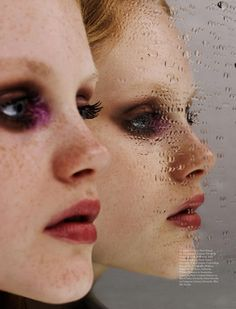 Stain-Glass Masquerade - Givenchy (Wonderland Magazine)