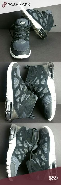 NIKE FREE RUN 2 MID MEN'S SHOES IN GOOD CONDITION   SKE # BBC NIKE Shoes Athletic Shoes