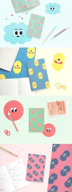 The adorable little SOM SOM Mini Notebook is perfect for both note taking and creative needs because the left side features plain notes and the right side has lined notes. Check out the photos to learn more!