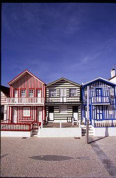 Aveiro - Costa Nova beach | Via Flickr ARPT Centro de Portugal