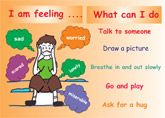 Puzzles : What can I do when I'm feeling worried Puzzle