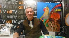 Programa Estilo VIP com Apresentador Marcelo Vajsenbek e Pintura do Artista Plástico Edson Verti