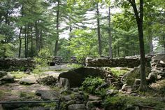 6. America's Stonehenge, Salem  This mysterious man-made site features walls, chambers and ceremonial sites that are over 4,000 years old! Some say that this is the oldest man-made construction in the U.S.