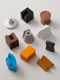 "Hangul( Korean alphabet) unit"" by BKID. Module Design, 3d Design, Cover Design, Graphic Design, Industrial Design, Furniture Design, Concrete Furniture, Stationery, Design Inspiration"