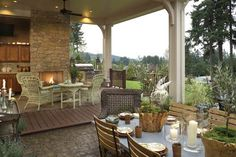 House Plans With Outdoor Living Spaces | The House Designers Blog