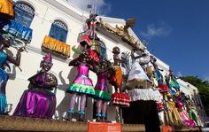 Decoração do carnaval de Olinda. Prefeitura. // Olinda´s carnival decoration. City Hall. Brazil