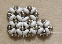 How to Right-Angle Weave with Two-Holed Beads